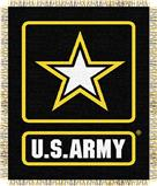 Northwest U.S. Army Triple Woven Jacquard Throw