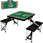 Picnic Time NFL New Orleans Saints Picnic Table