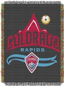 Northwest MLS Colorado Rapids Handmade Woven Throw