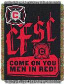 Northwest MLS Chicago Fire Handmade Tapestry Throw