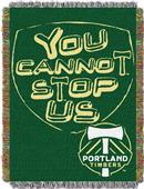 Northwest MLS Portland Handmade Tapestry Throw