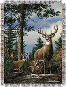 Northwest Hautman Bros King Stag Tapestry Throws