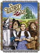 "Northwest The Wizard of Oz 60"" Tapestry Throws"