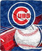 Northwest MLB Chicago Cubs Sherpa Throw