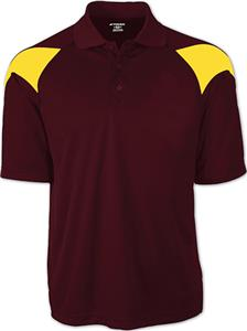DARK MAROON/GOLD