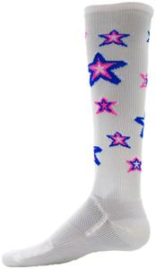 WHITE/ROYAL/FLUORESCENT PINK