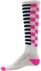 WHITE/FLUORESCENT PINK/BLACK