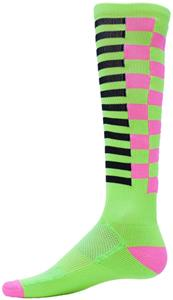 FLUORESCENT GREEN/FLUORESCENT PINK/BLACK