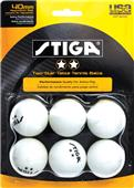 Escalade Sports Stiga 2-Star Table Tennis Balls