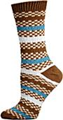 E. G. Smith Recycled Reggae Stripe Crew Socks