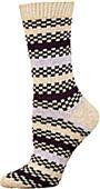 E. G. Smith Recycled Reggae Stripe Crew Socks