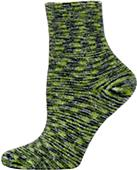 Nouvella Womens Space Dyed Terry Shortie Socks