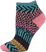 QT Feet Womens Recycled Sunrise Shortie Socks