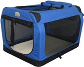 Go Pet Club Blue Soft Portable Pet Carrier