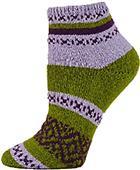 QT Feet Womens Recycled Harmony Shortie Socks