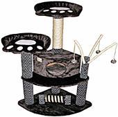 """Go Pet Club 50"""" Black Cat Tree Condo Furniture"""