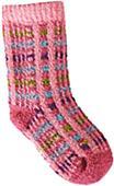 QT Feet Recycled Picnic Plaid Baby Socks