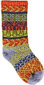 QT Feet Recycled Sunrise Fairisle Baby Socks