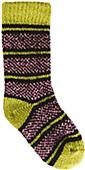 QT Feet Recycled Birdseye Stripe Baby Socks
