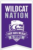 Winning Streak NCAA Kansas St Fan Nations Banner