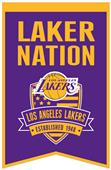 Winning Streak NBA LA Lakers Fan Nations Banner