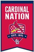 Winning Streak MLB Cardinals Fan Nations Banner