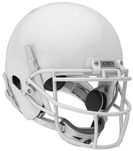 WHITE (HELMET/FACEMASK/CHINCUP/CHINSTRAP)