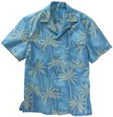 Edwards Unisex Tropical Palm Camp Shirt
