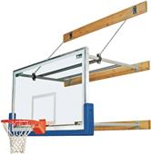 """Bison Competitor 72""""-96"""" Wall Mount Structure Pkg"""