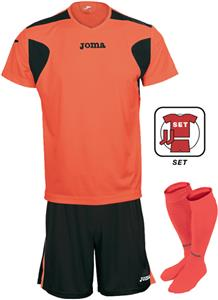 FLUORESCENT ORANGE/BLACK (SET)