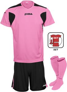 FLUORESCENT PINK/BLACK (SET)