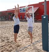 Bison Match Point Competition Outdoor Vball System