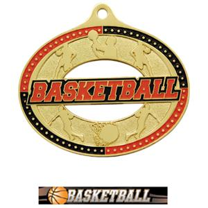 GOLD MEDAL/ULTIMATE BASKETBALL NECK RIBBON