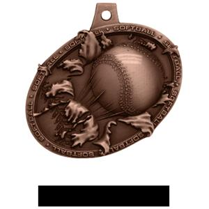BRONZE MEDAL/BLACK NECK RIBBON