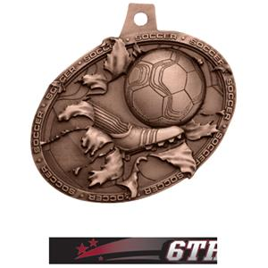 BRONZE MEDAL/ULTIMATE 6TH PLACE NECK RIBBON