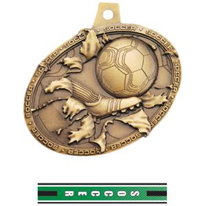 GOLD MEDAL/TURBO SOCCER NECK RIBBON