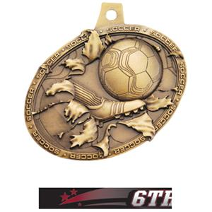 GOLD MEDAL/ULTIMATE 6TH PLACE NECK RIBBON