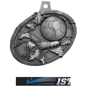 SILVER MEDAL/ULTIMATE 1ST PLACE NECK RIBBON