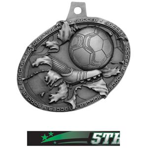 SILVER MEDAL/ULTIMATE 5TH PLACE NECK RIBBON
