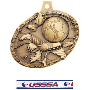 GOLD MEDAL/USSSA NECK RIBBON