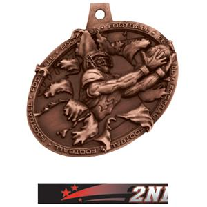 BRONZE MEDAL/ULTIMATE 2ND PLACE NECK RIBBON