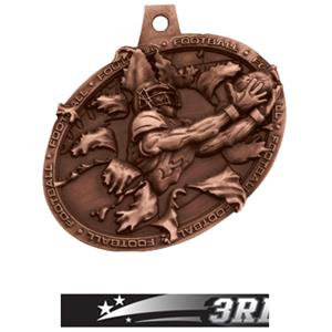 BRONZE MEDAL/ULTIMATE 3RD PLACE NECK RIBBON