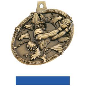 GOLD MEDAL/BLUE NECK RIBBON