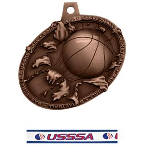 BRONZE MEDAL/USSSA NECK RIBBON