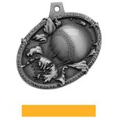 Hasty Awards Bust Out 3D Baseball Medal M-755C