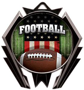 PATRIOT MYLAR/AMERICANA FOOTBALL NECK RIBBON