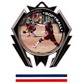 Hasty Awards Stealth Softball P.R.1 Medal M-5200O