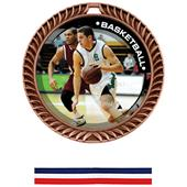 Awards Crest Basketball Medal P.R.Male M-8650B