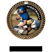 Hasty Awards Crest Football Medal P.R.2 M-8650F