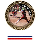 Hasty Awards Crest Softball Medal P.R.1 M-8650O